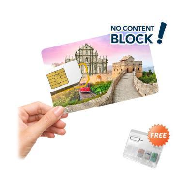 harga Ezzy Connect China & Hongkong & Macau Simcard Internasional [14 Days/ Unlimited/ 4G Sim Card] Blibli.com