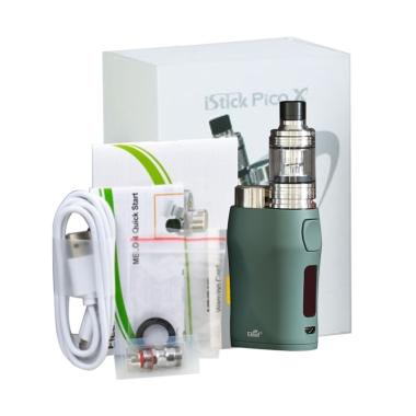Eleaf iStick Pico X with Melo 4 Starter Kit Vaporizer Authentic - Green [75  W]