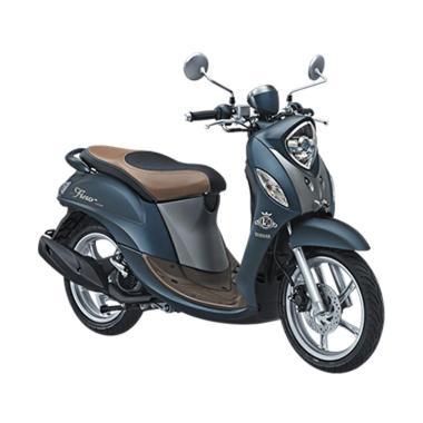 harga Yamaha New Fino Grande 125 Blue Core Sepeda Motor [VIN 2019/ OTR Jawa Barat] Blibli.com