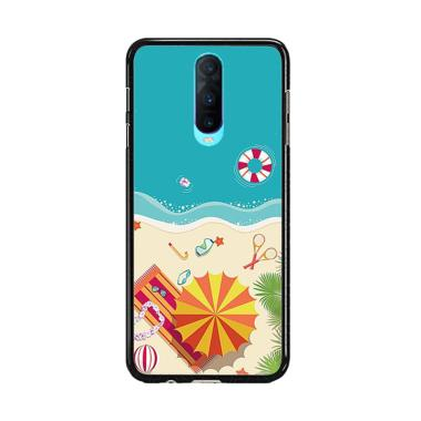 Acc Hp Beach AB0208 Custom Casing for Oppo R17 Pro