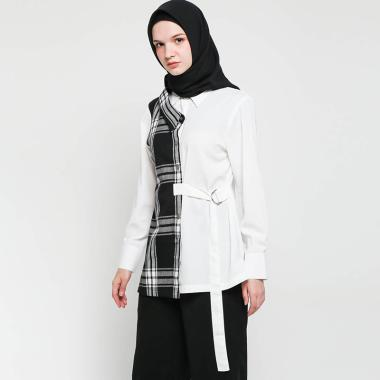 Jual Baju Putih Polos Lengan Panjang Harga Promo 2020 Blibli Com