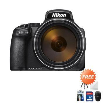 harga Nikon Coolpix P1000 Digital Camera + Free Screenguard + SDHC 32GB + Gorillapod + Cleaning Kit + Tas Universal Blibli.com