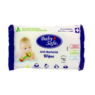 Baby Safe BWP10 Food Grade Anti-Bacterial Wipes Tisu Basah Anak [10 Sheet]