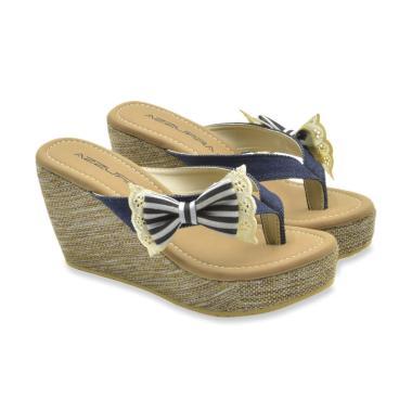 Jual Sandal Wedges Wanita Cantik   Lucu - Model terbaru  ad693a4759