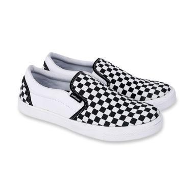 harga Catenzo Casual Vans Classic Platform Sepatu Slip On Pria Blibli.com