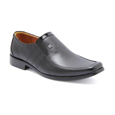 harga BUCCHERI Baldev Sepatu Formal Pria - Black Blibli.com