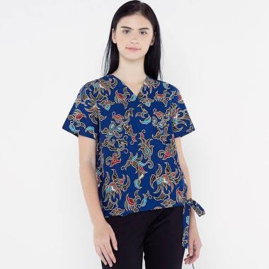 harga FBW Couple Daon Kimono Batik Blouse Atasan Wanita Blibli.com