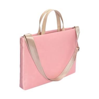 harga Cooltech Massanger Bag Tas Laptop Selempang [14 Inch] #001 Pink Blibli.com