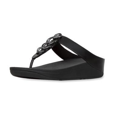 harga Fitflop Fino Chain Toe-Post Sandal Wedges Wanita Blibli.com