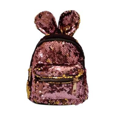 Fashion 0930010041 2 In 1 Sequin Tas Sekolah Anak Perempuan