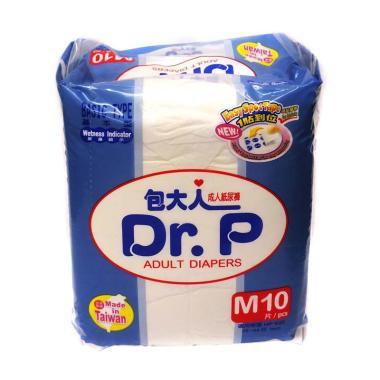 Dr.P Basic Adult Diaper [Size M/ 10 sheet]