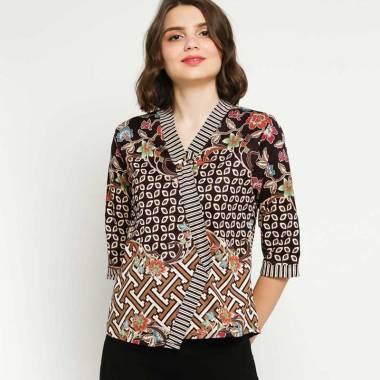harga Batik Distro BA9492 BA9493 3 Motif Pendek Blus Wanita Blibli.com