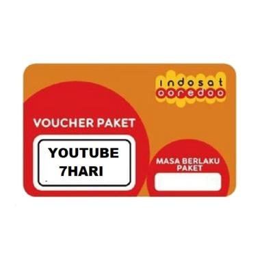 Indosat Voucher 1GB Unlimited Youtube [7 Hari]