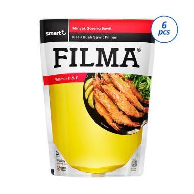 harga Groceries - SMG/JOG/SOLO - Filma Minyak Goreng Pouch [2000 ml x 6 pcs] Blibli.com