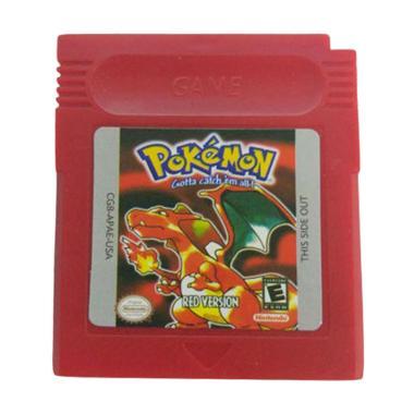 harga Bluelans Pokemon Series Game Boy Color Red Blibli.com