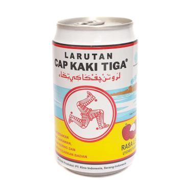 harga Cap Kaki Tiga K3 Lychee Larutan Penyegar [320 mL/ Kemasan Kaleng] Blibli.com