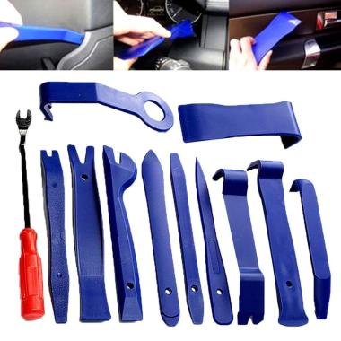 harga Bluelans Professional Auto Car Radio Audio Door Panel Trim Removal Pry Tool Set [12 pcs] Blibli.com
