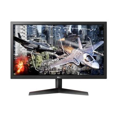 harga LG 24GL600F-B UltraGear TN LED Gaming Monitor [24 Inch/ Freesync] Blibli.com