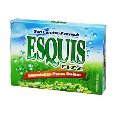 harga ESQUIS Fizz Minuman Serbuk (isi 12 Sachet) Blibli.com