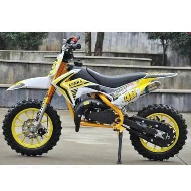 harga LENKA MC46 Mini Motor Trail No Cyber Yellow - Blibli.com