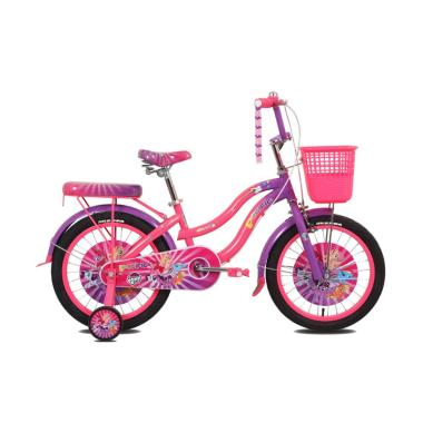 Pacific 18 Mini My Little Pony 1 Speed Sepeda Anak [18 Inch]