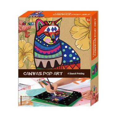 harga Avenir Cat 1338 Canvas Pop Art Blibli.com