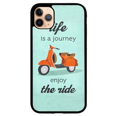 harga Hardcase Casing Custom iPhone 11 Pro Max The Ride Vespa E0618 Case Cover Blibli.com