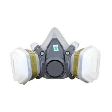 harga OEM 6200 Elesesafe Masker Gas Respirator Gray Blibli.com