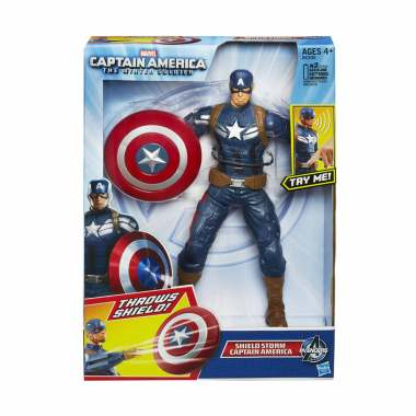 harga Hasbro Figure Talking Captain America Shield Storm Original Hasbro Toy Mainan Action Figure Blibli.com