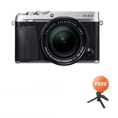 harga Fujifilm X-E3 Kit 18-55mm Kamera Mirrorless + Free Tripod Mini - Blibli.com