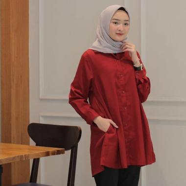 Model Baju Tunik Atasan Wanita Terbaru Kualitas Terjamin Blibli Com