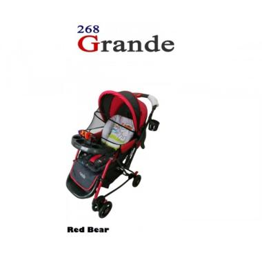 pliko pliko stroller bayi grande 268 bear full01