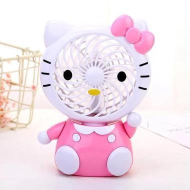 harga Hello Kitty Duduk HK D Kipas Angin Mini - Pink Blibli.com