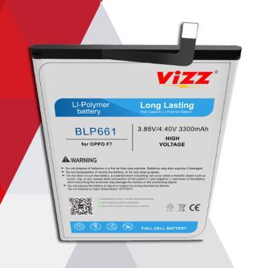 harga Vizz BLP661 Baterai Handphone for OPPO F7 [Original]