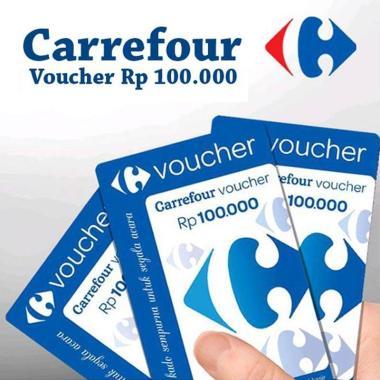 Carrefour Voucher Belanja [Rp 100.000]