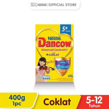 Dancow Coklat 5+ Susu Formula [400 g/ Box]