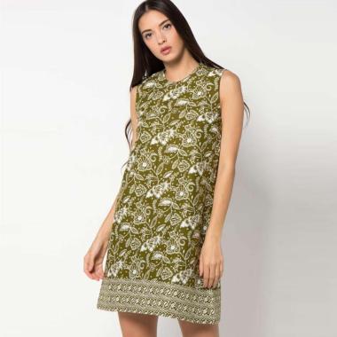 Batik Indra Loka 2987 D-F 20 Kelir Dress Batik Wanita
