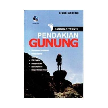harga Penerbit Andi Panduan Teknis Pendakian Gunung Edisi 1 by Hendri Agustin Buku Blibli.com