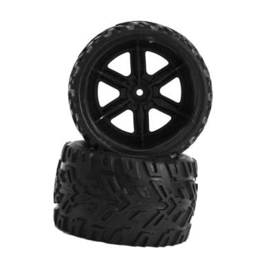 harga OEM Rubber Wheel Tire for 1/12 Scale RC Truck 4WD RC Car Monster Truck [2pcs / 86mm] Blibli.com
