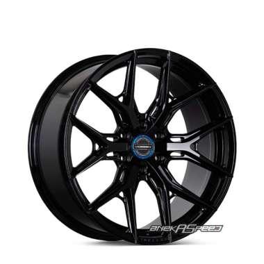 harga Vossen HF6-4 R20x9.5 ET+15 - PCD 6x139.7 Gloss Black | Velg Mobil ORI