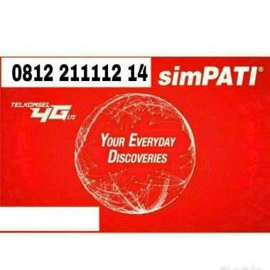 harga Simpati Nomor Cantik 0812 211112 14 Kartu Perdana [4G LTE] Blibli.com