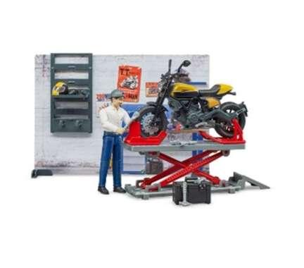 harga Bruder 62102 - bworld Motorcycle service Scrambler Ducati Full Throttle Blibli.com
