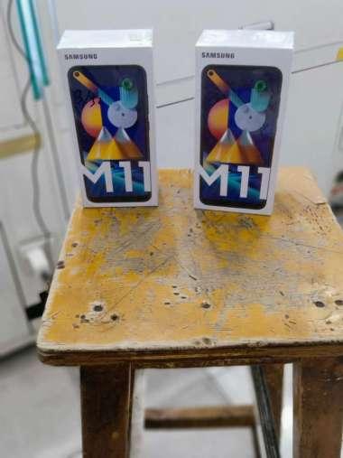 harga Samsung M11 3/32 + Jellycase & AntiGores Hitam