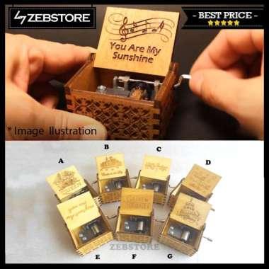 harga Kotak Box Musik Music Putar Manual Antik Retro Vintage Classic Kayu Wood Wood Blibli.com