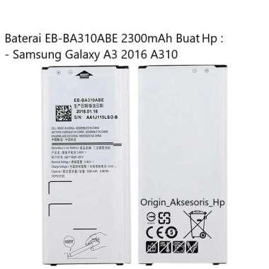 harga Original Baterai EB-BA310ABE Buat Handphone Samsung Galaxy A3 2016 Blibli.com