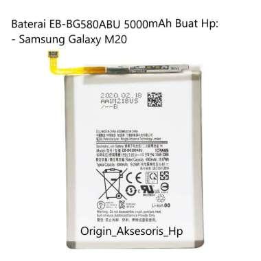 harga Original Baterai EB-BG580ABU Buat Handphone Samsung Galaxy M20 Blibli.com