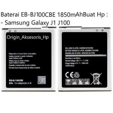 harga Original Baterai EB-BJ100CBE Buat Handphone Samsung Galaxy J1 J100 Blibli.com