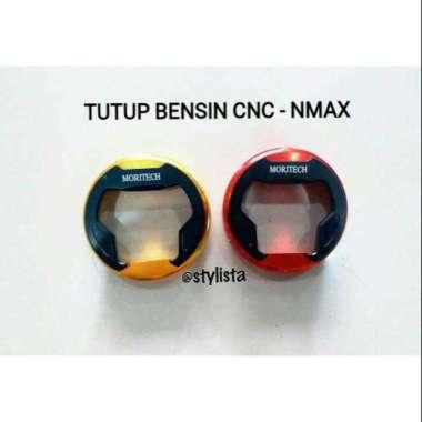 harga Tutup Cover Bensin All Nmax Full CNC aksesoris motor Gold Blibli.com