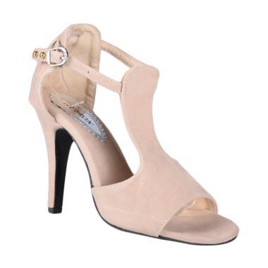 33855cc5294 RSM SN-166 Sepatu High Heels Wanita - Cream