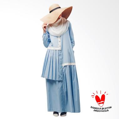 Thia Label Ghenia Dress Muslim - Blue